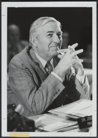 Joseph Volker as chancellor - UA Archives