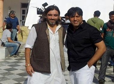 Daljit Sean Singh with Govinda