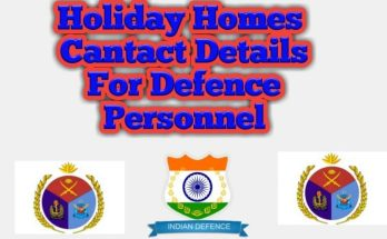 defence personnel holiday homes