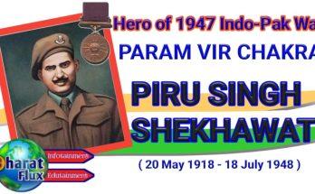 Superhero of 1948 War Param Vir Chakra Awardee Piru Singh Shekhawat