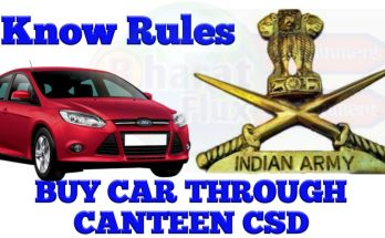 How to Buy a Car from Canteen CSD