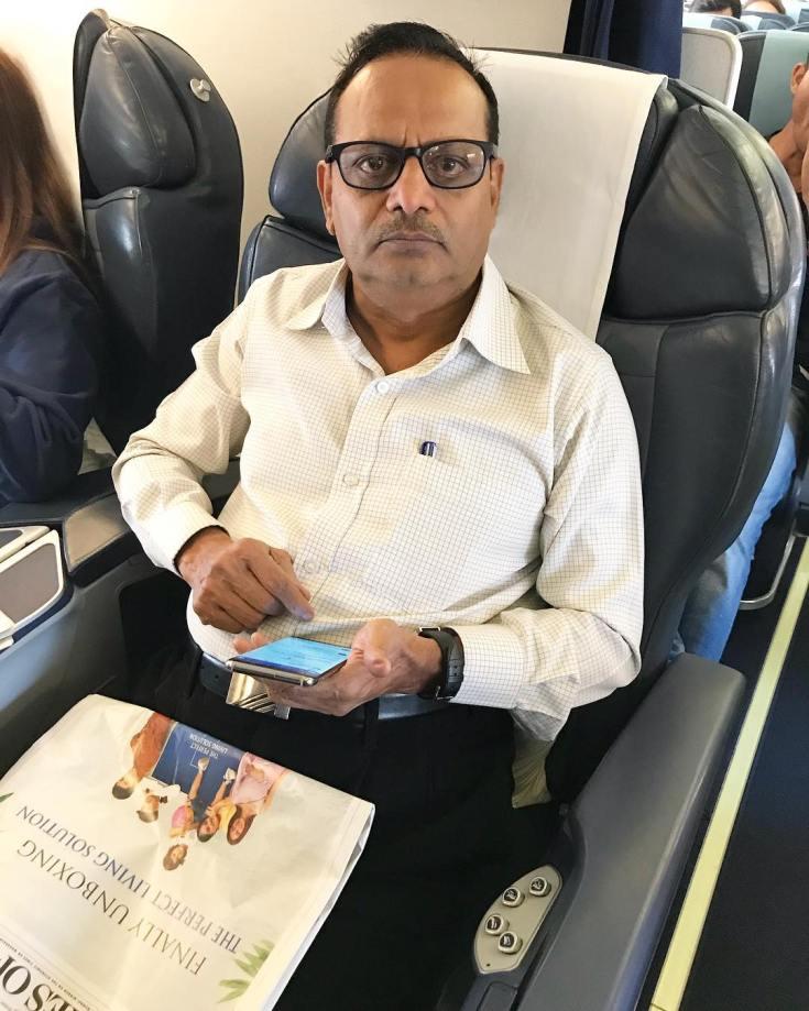 Father rahul vaidya