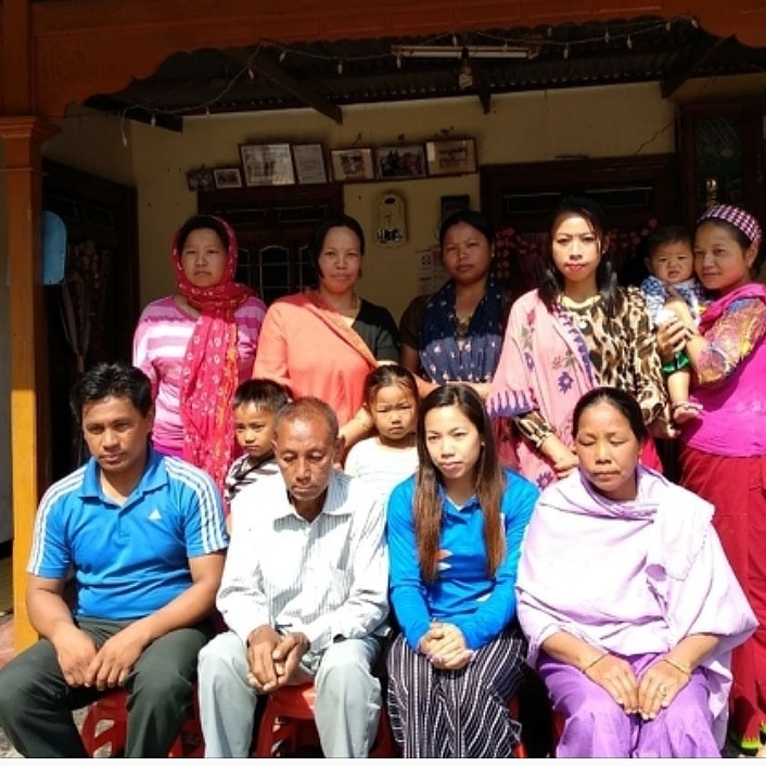 Family Mirabai chanu
