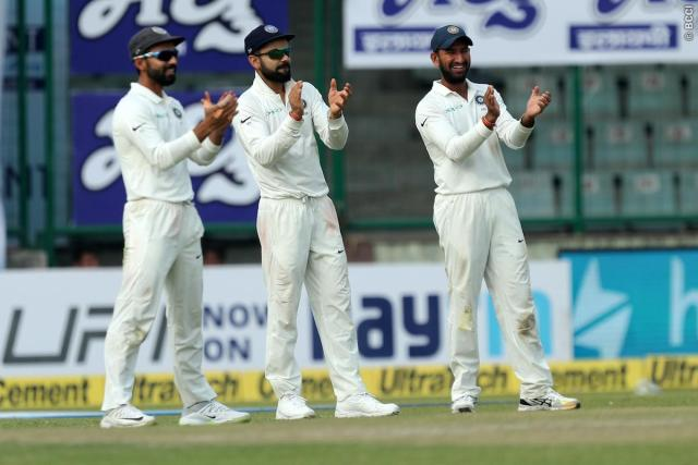 indian test team announced