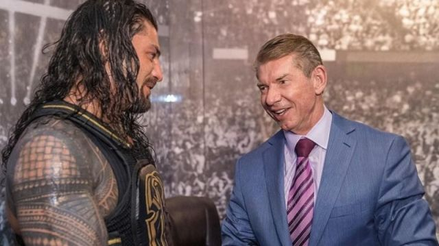 Vince McMahon sent a heart-rending message to Roman Reigns.
