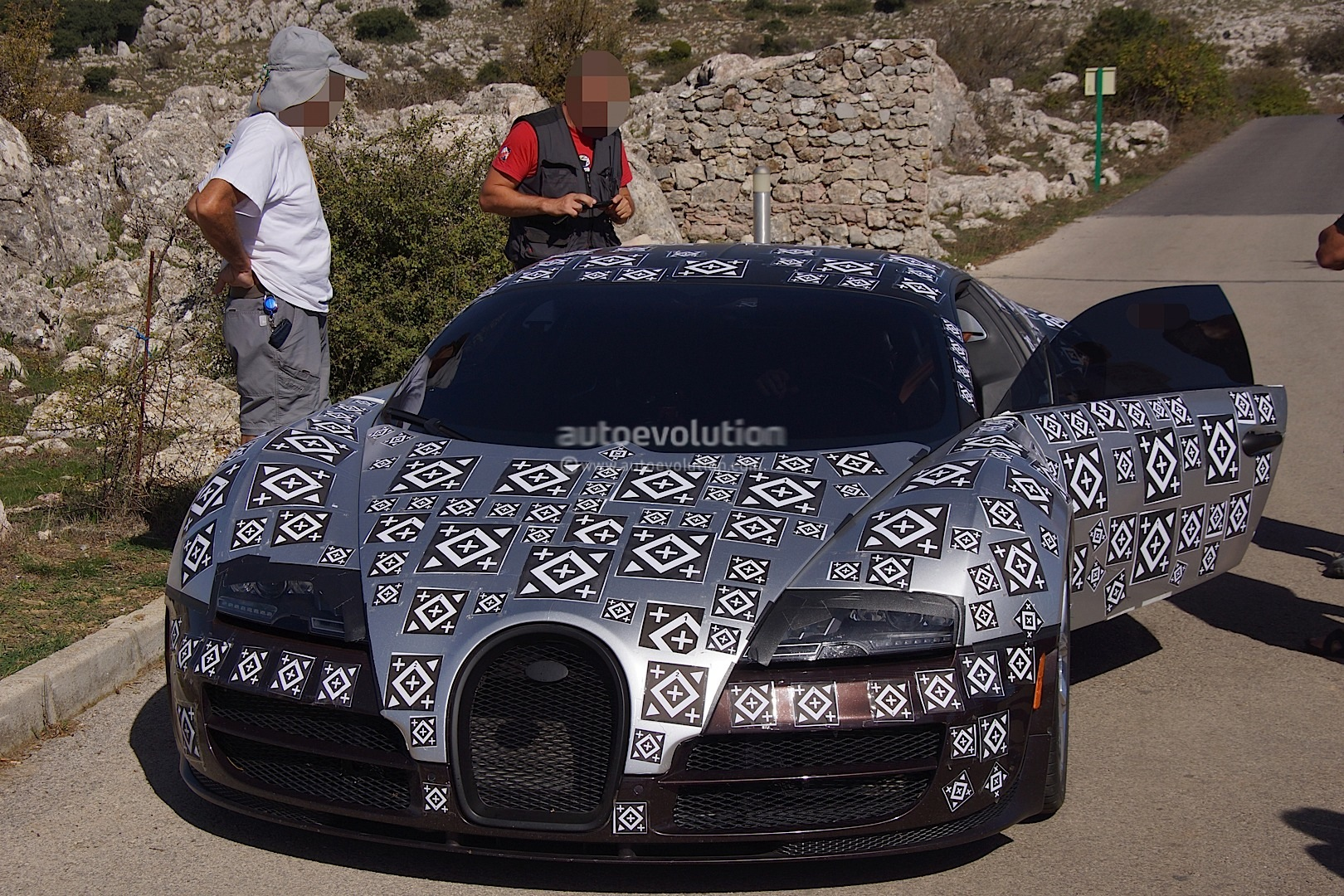 W16 Engine With 1200 Horsepower Bugatti Veyron Diagram