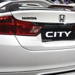 Honda City Black Interior Sports Kit Accessories Pictures Photos Images Snaps 2016 Auto Expo Spoiler Bharathautos Automobile News Updates