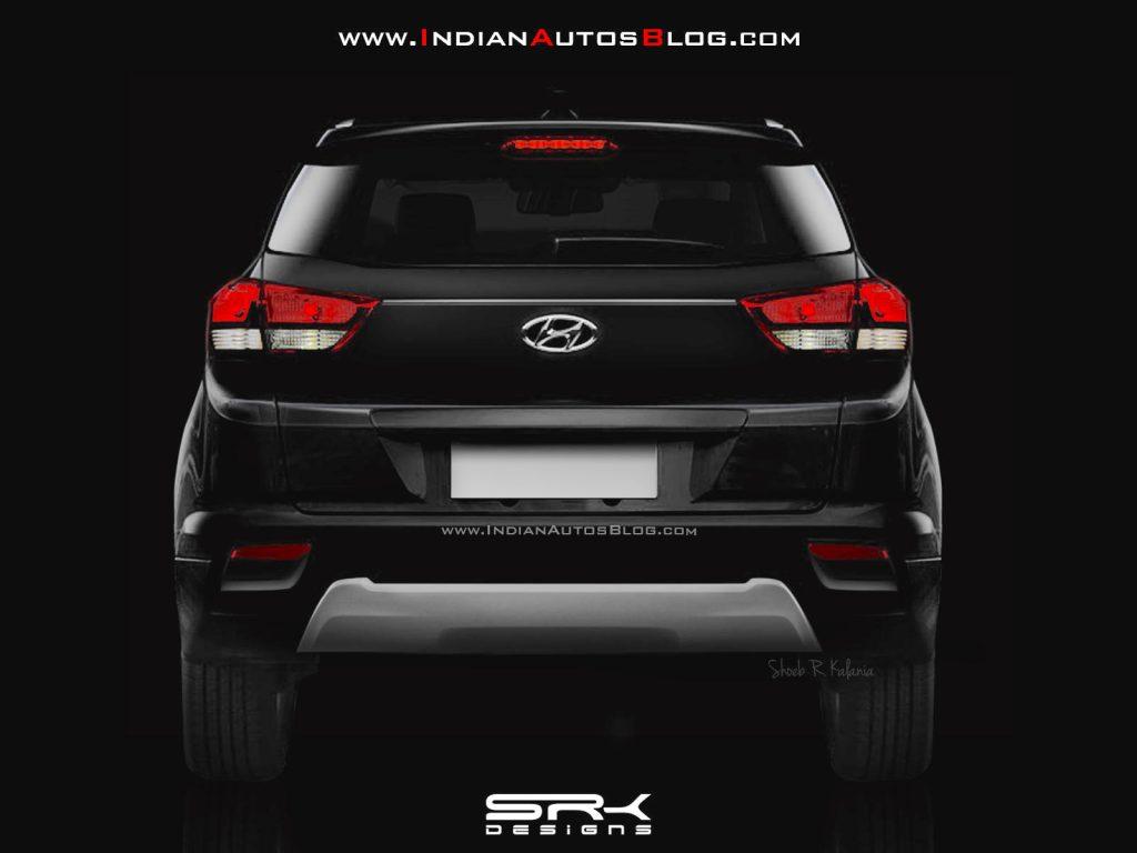 India Bound Hyundai Creta Facelift Teased In Brazil Again