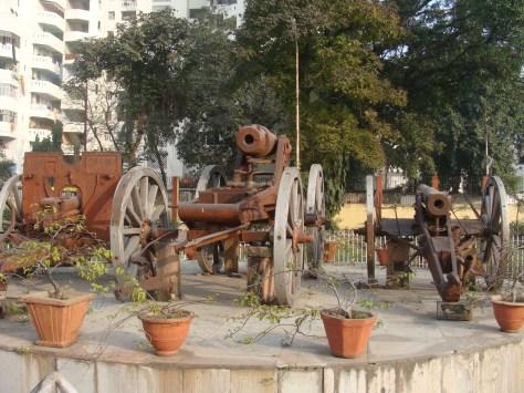 Tank in Patna Museum