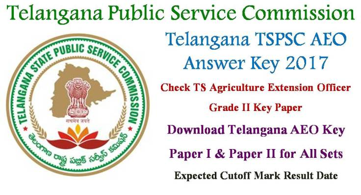 TSPSC AEO Answer Key 2017