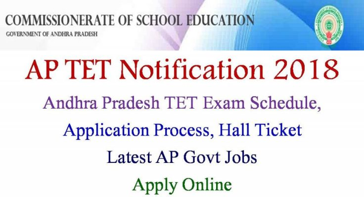 AP TET Notification 2018