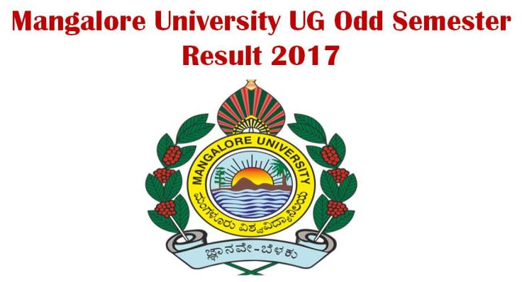 Mangalore University UG Odd Semester Result Check Now