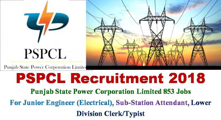 PSPCL Recruitment 2018 for JE Vacancy