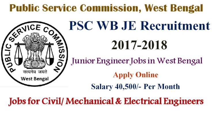 WB JE Recruitment