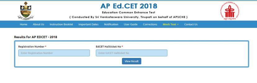 ap ecet result, Andhra Pradesh ECET Result, Andhra Pradesh Engineering Common Entrance Test Merit List