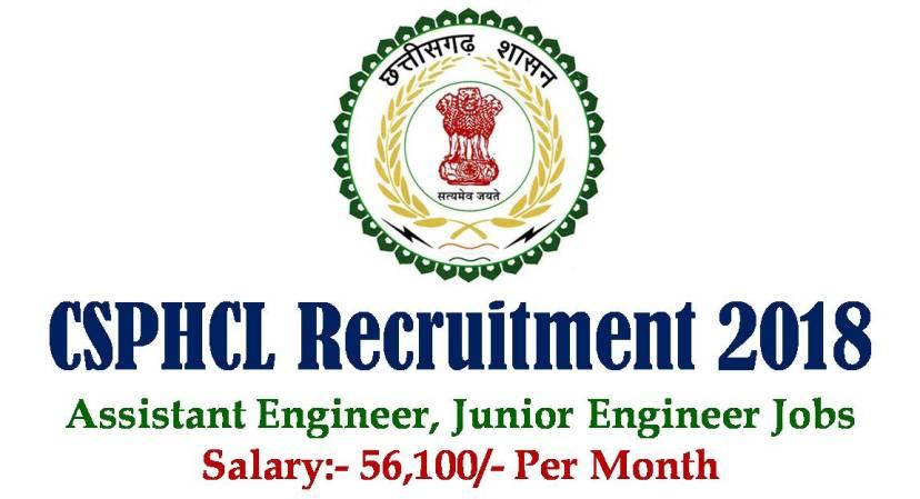 CSPHCL Recruitment 2018