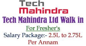 Tech Mahindra Ltd Walk in
