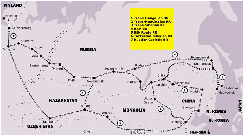 Trans-manchurian railway