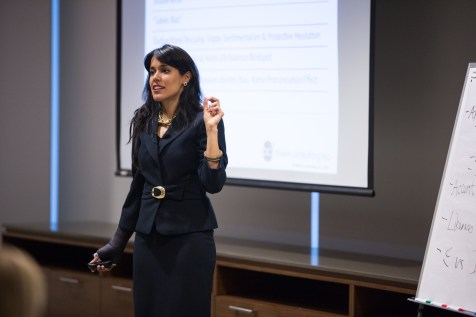 "Diversity in Law Learning Workshop, April 8, 2015: Ritu Bhasin facilitating a workshop entitled ""Are You 'Whistling Vivaldi'? Addressing Bias and Blindspots in a Law Firm Environment"" – Toronto, ON"