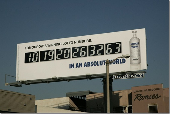 Absolut - Lotto