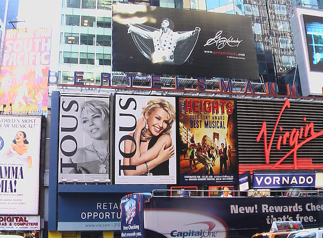 Advertising Times Square