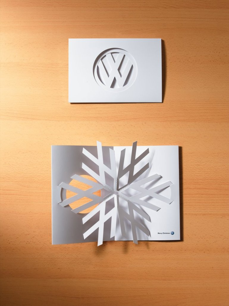 Volkswagen Christmas Card 2006