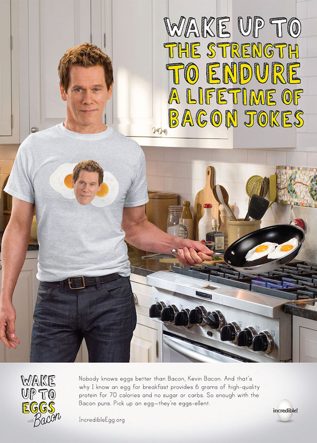Kevin Bacon Egg
