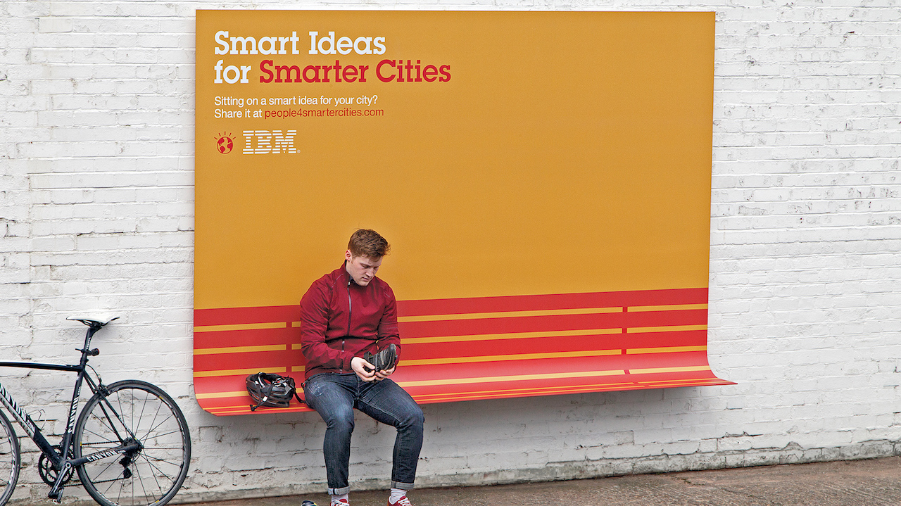 IBM Smart ads For Smarter Cities