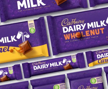 Cadbury re-branding