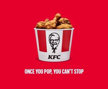 KFC tag line Pringles