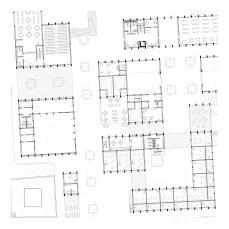 detail of ground floor plan