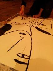 Alina Vergnano for the St.ART Shahpur Walk by Delhi Dallying