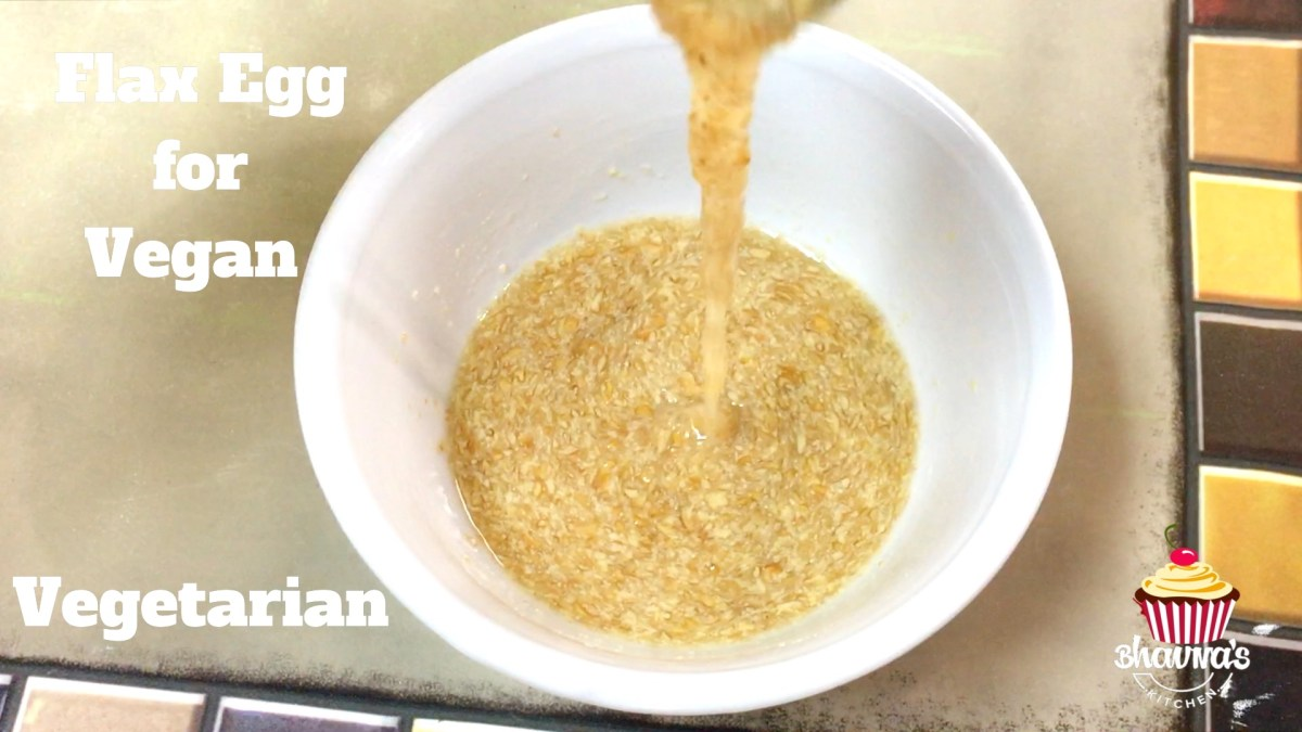 Flax Egg - Heart of a Vegan Vegetarian Baker