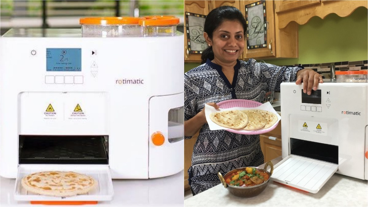 Rotimatic - A Roti, Puri, Tortilla, Pizza Base making Robot