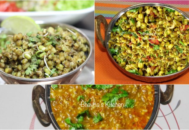 Jain food bhavnas kitchen spiced sprouted moong beans ugadela or fangavela mung sabzis forumfinder Image collections