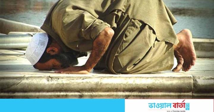 সিরাজগঞ্জে সিজদারত অবস্থায় মারা গেলেন মুসল্লি