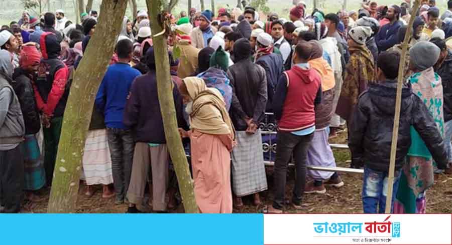 কালিয়াকৈরে ধর্মীয় অনুভূতিতে আঘাতের অভিযোগে লাশ দাফনে বাধা