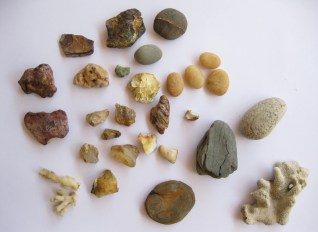 some of my collection of stones