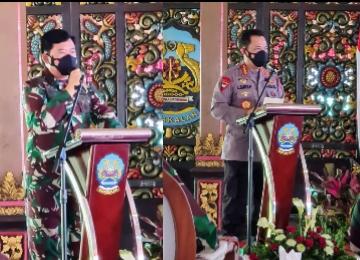 Ke Bangkalan, Panglima dan Kapolri Ajak Tokoh Agama Ikut Atasi Masalah Covid