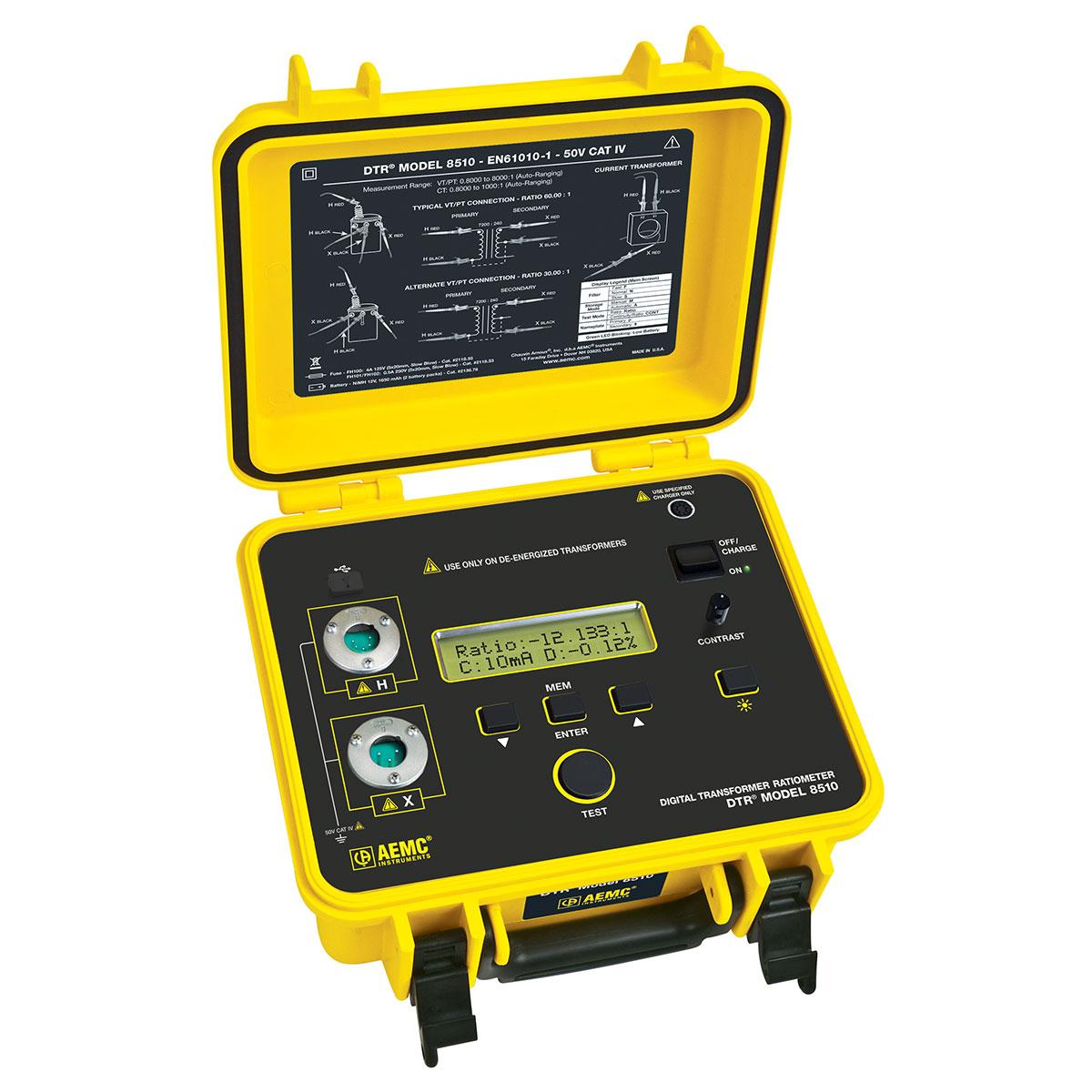 Dtr Digital Transformer Ratiometer 50 Aemc