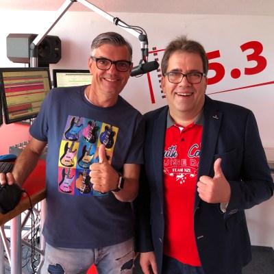 Axel Herrig zu Gast bei Radio BHeins mit Hartmut Behrenwald