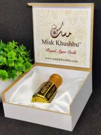 Introducing *Royal Agar Oudh* Available in *6ml wooden box*
