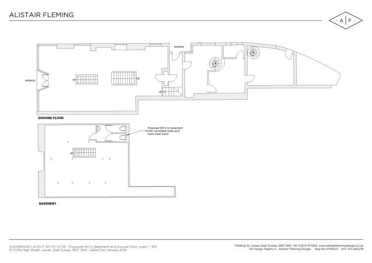 Alistair Fleming Shop Floor Design