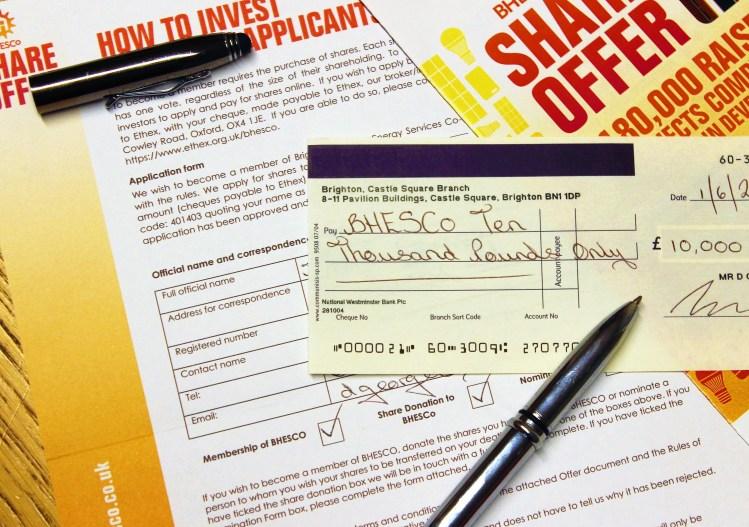 BHESco Blog Impact Investing Shareholder Application Form