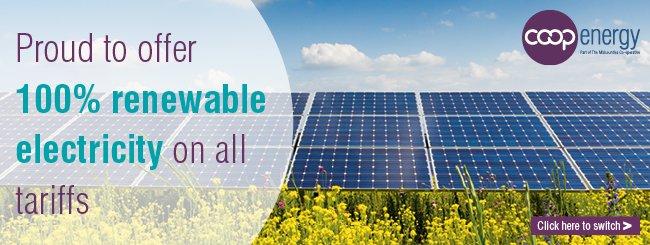 BHESCo Coop Energy Renewable Electricity Banner