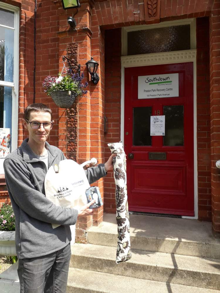Energy Saving Goodie Bag Project - Dan at Southdown Housing - May 2019