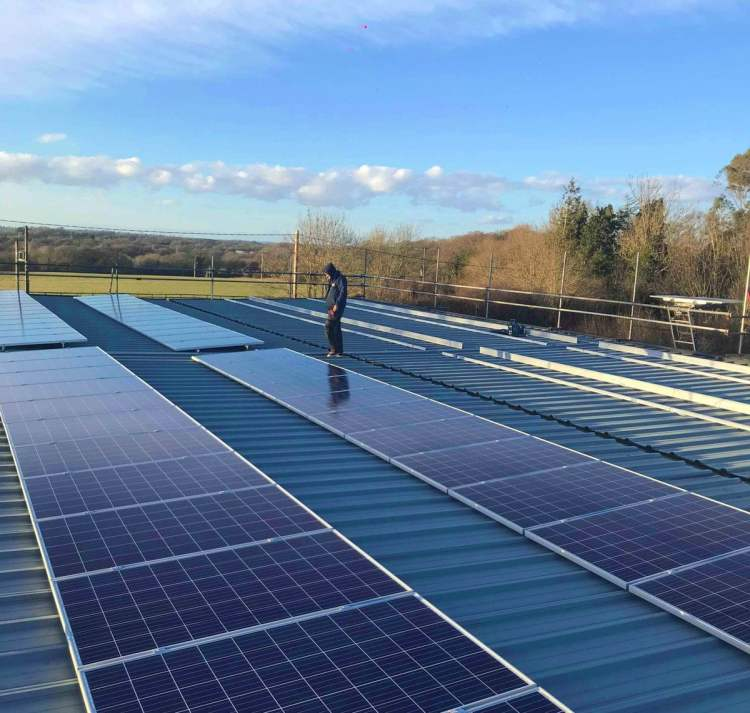 Energy Saving Business Organisation - Alistair Fleming Fine English Cabinetry - Brighton Hove Energy Services - Renewables Solar PV