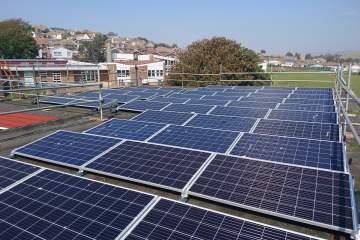 solar panels schools saltdean brighton