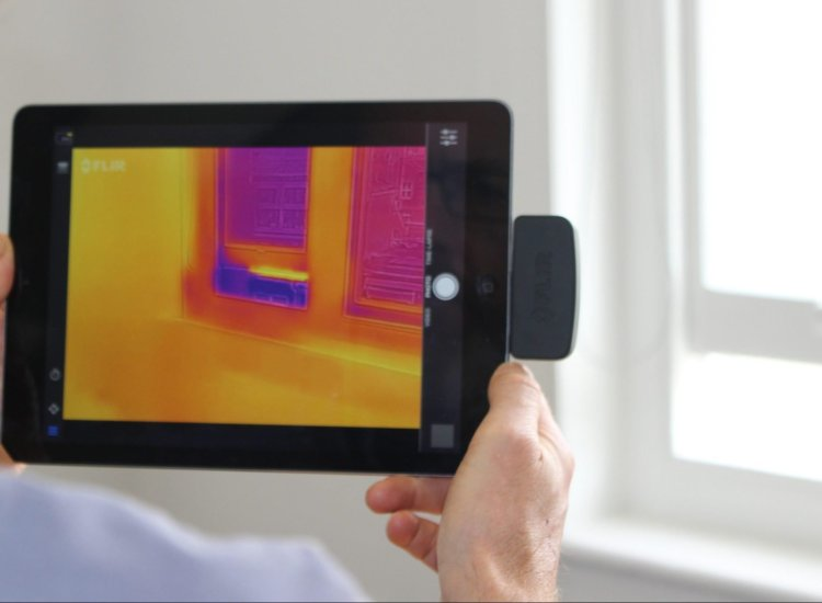energy saving survey - thermal imaging
