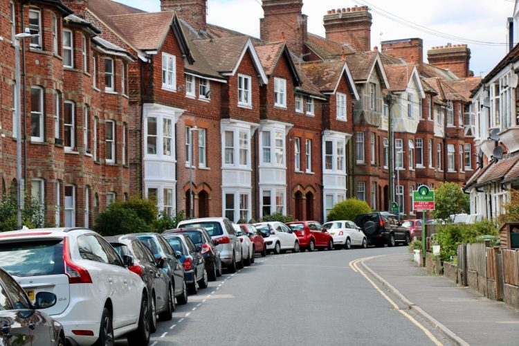 row of houses sussex - improving home energy efficiency
